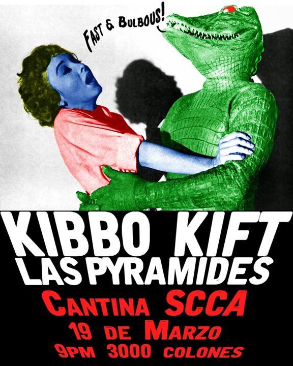 Los Sonidos explosivos de Las Pyramides y Kibbo Kift