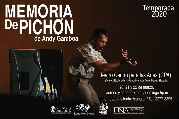 Memoria de Pichón de actor Andy Gamboa