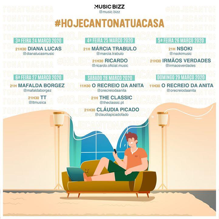 HojeCantoNaTuaCasa