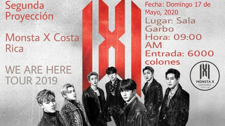 Segunda Proyeccion We Are Here Tour 2019 Seul