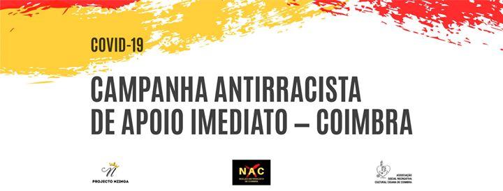 Covid-19 Campanha Antirracista de Apoio Imediato - Coimbra