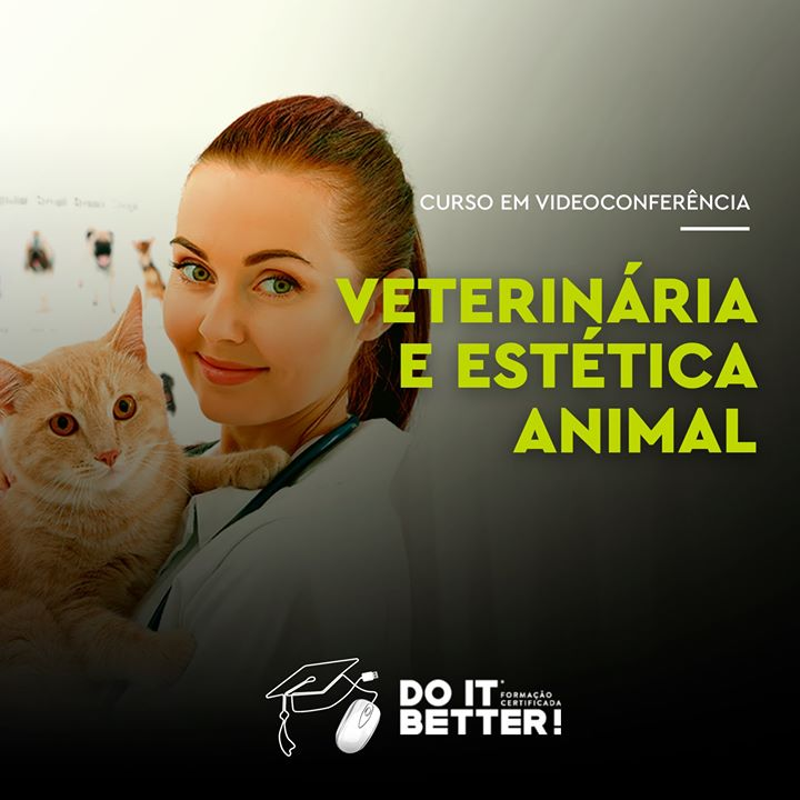 Auxiliar de Veterinária e Estética Animal : Online
