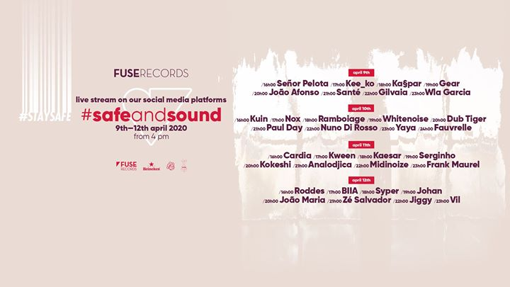 Fuse Records: #SafeAndSound