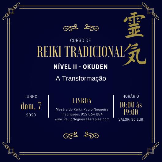 Curso de Reiki Tradicional Nível II