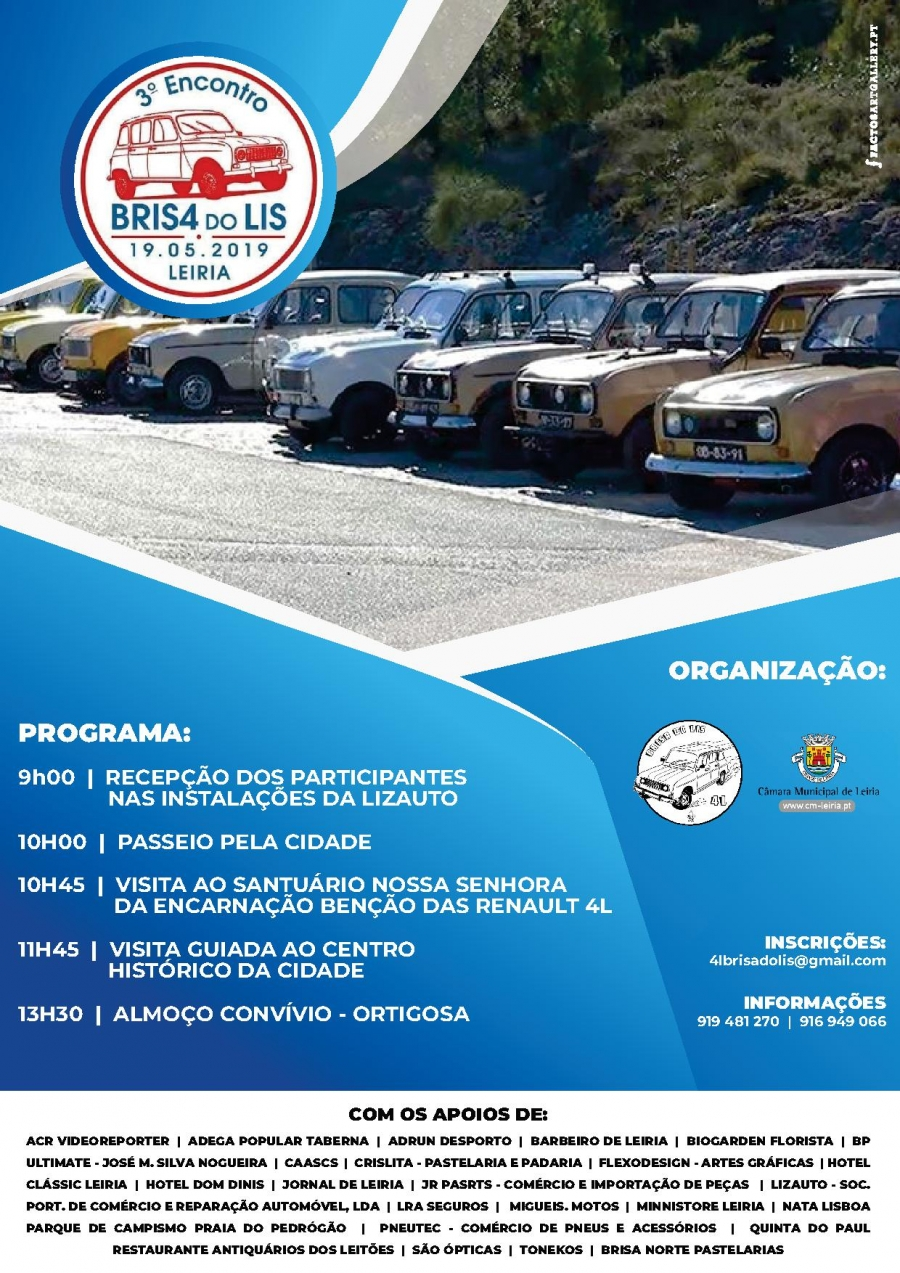 4.º Encontro Brisas do Lis – 4L