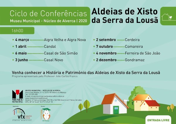 Ciclo de Conferências 'Aldeias de Xisto da Serra da Lousã'