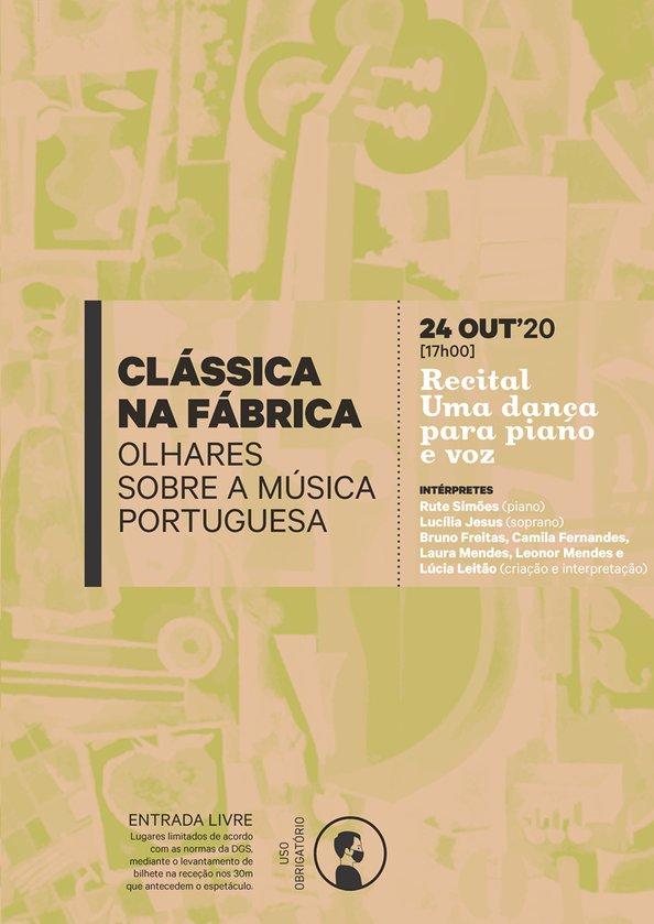 Recital 'Uma dança para piano e voz'