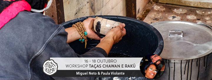 Workshop de Taças Chawan e Rakú 2ªEdição | Tea-cup and Raku