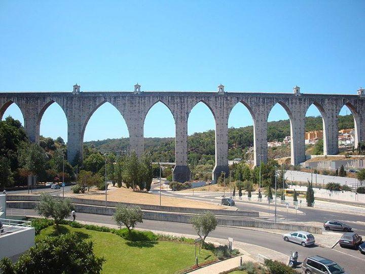 Visita e Travessia do Aqueduto das Águas Livres