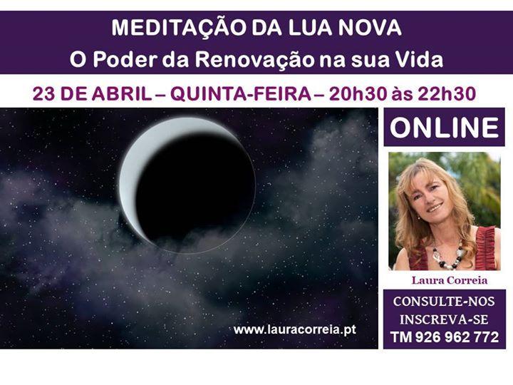 Online ! Meditação da LUA Nova