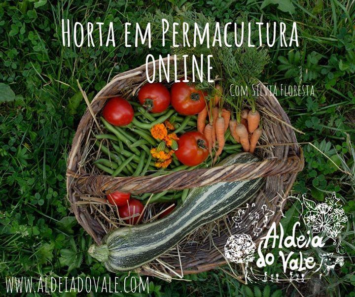 Horta em permacultura online com Sílvia Floresta