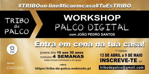 Workshop Palco Digital com João Pedro Santos