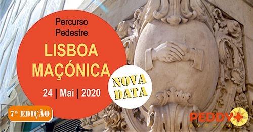 Percurso Pedestre 'Lisboa Maçónica' (7ª Edição)