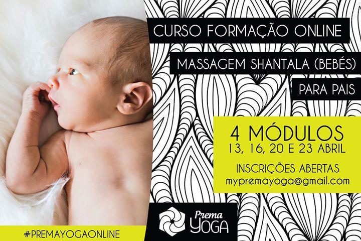 Curso de Formação online em Massagem Shantala para Pais
