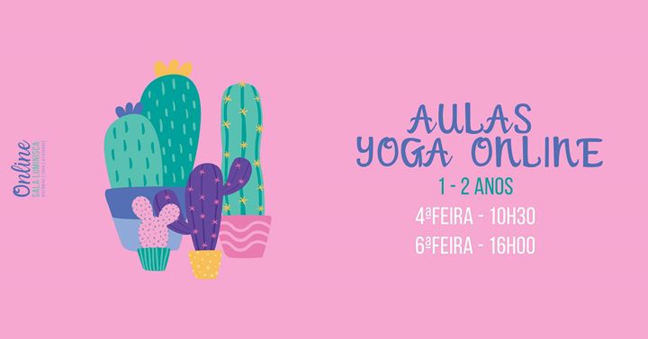 Yoga em Família Online (1-2 anos)