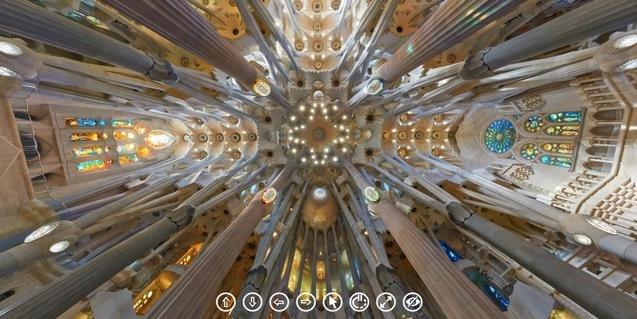 La Sagrada Família, amb tot detall