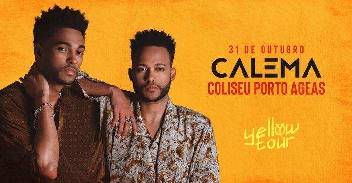 Calema | Coliseu Porto Ageas - 31 de Outubro