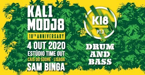 K18 Kalimodjo 18º Aniversário Part 3 Sam Binga