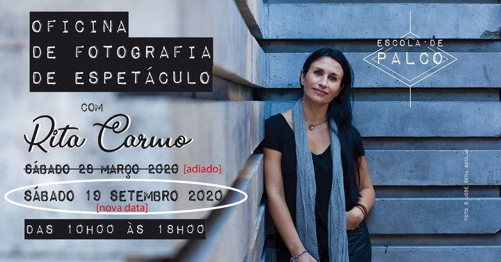 Oficina de Fotografia de Espetáculo, com Rita Carmo