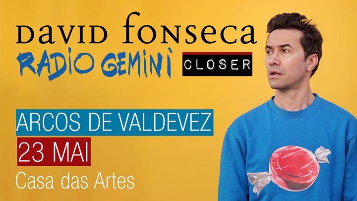 David Fonseca - Radio Gemini Closer