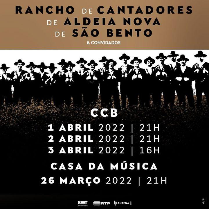 ADIADO ... Rancho de Cantadores de Aldeia Nova de São Bento (Sessão Extra)