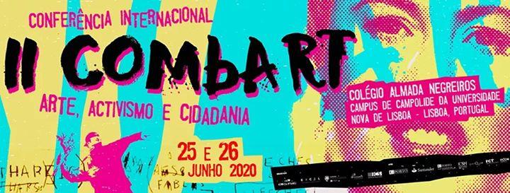 II COMbART: Arte, ativismo e cidadania