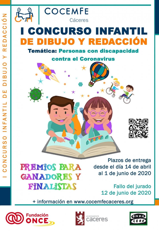 I CONCURSO INFANTIL DE DIBUJO Y REDACCIÓN COCEMFE-CÁCERES