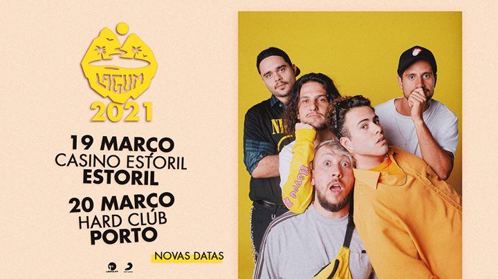 Nova data - Lagum: Estoril - 19 março