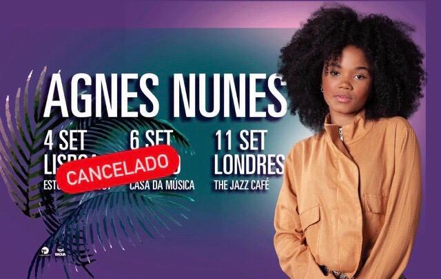 Cancelado | Agnes Nunes - Estúdio Time Out - nova data em breve