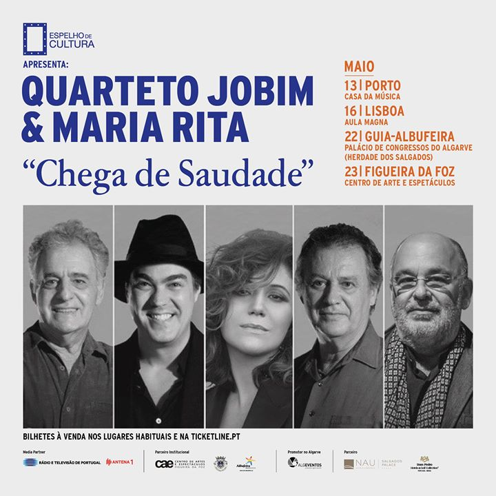 Quarteto Jobim & Maria Rita - 'Chega de Saudade' - Lisboa