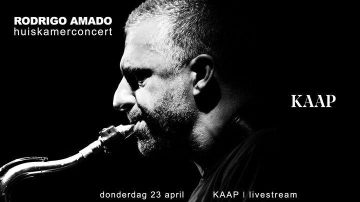 LIVE stream - Rodrigo Amado - huiskamerconcert