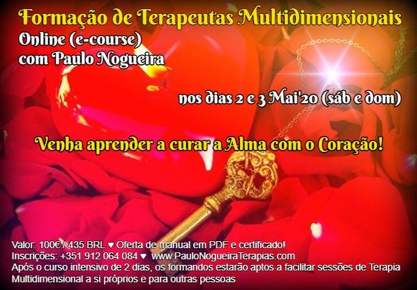 Curso Online de Terapia Multidimensional em Mai'20