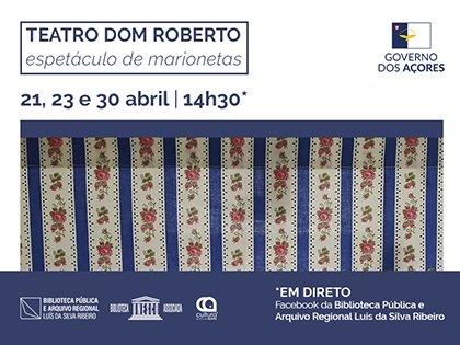 Teatro Dom Roberto – Espetáculo de Marionetas