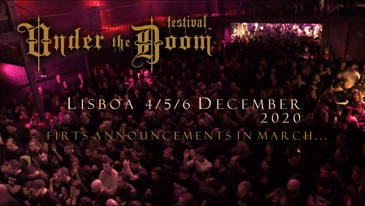 Under the Doom festival 2020 - Lisboa