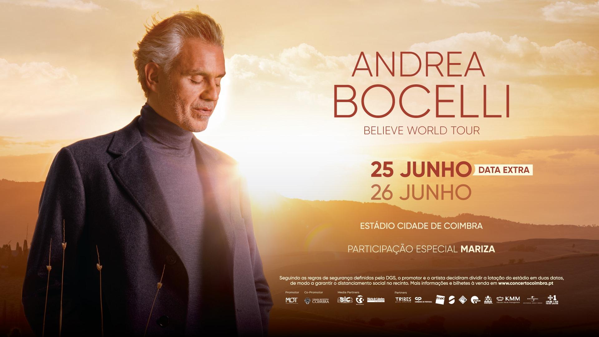 Andrea Bocelli | Coimbra 2021