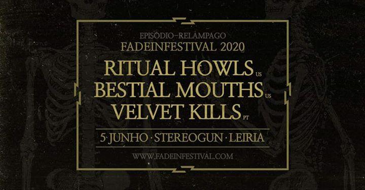 Ritual Howls, Bestial Mouths e Velvet Kills na Stereogun