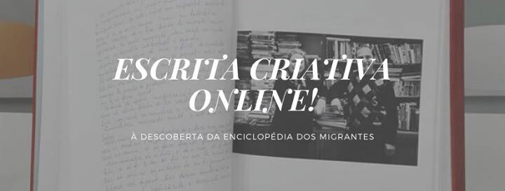 Escrita criativa online - Maio!