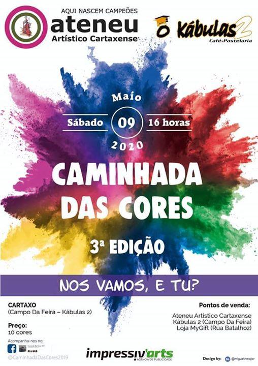 #CaminhadaDasCores2020