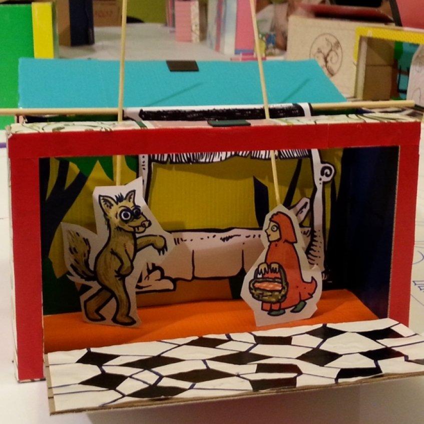 Teatro e Marionetas de Mandrágora   Caixa das Histórias Ensarilhadas