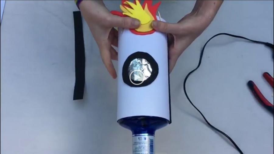 Ludotecaencasa te propone hacer un cohete