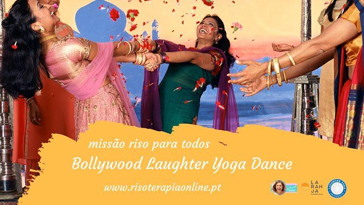 Aulas de Laughter Yoga Dance com ritmos de Bollywood - online