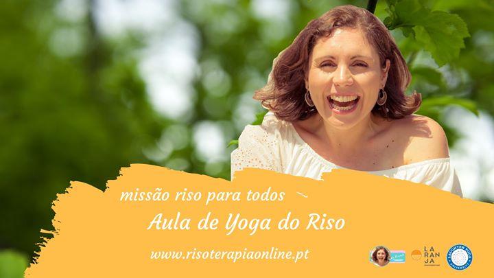 Aulas de Yoga do Riso - Online