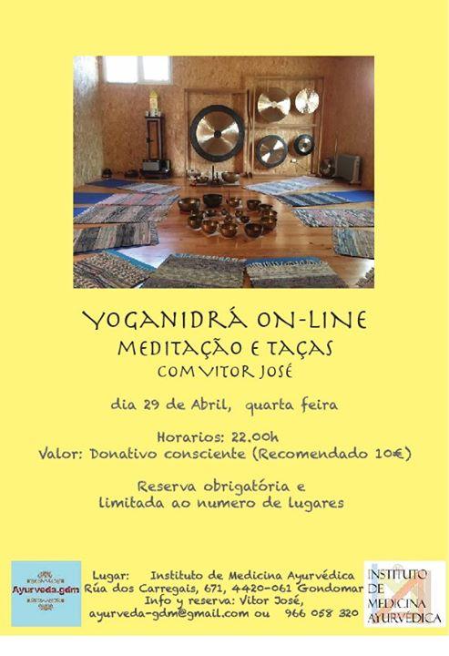 Yoganidrá - meditação e taças
