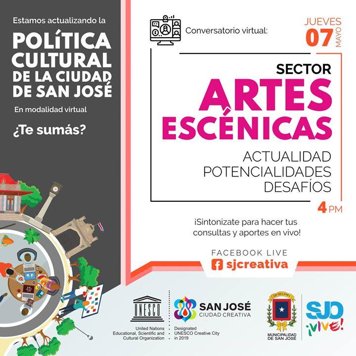 Conversatorio: Sector Artes Escénicas