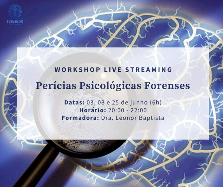 Perícias Psicológicas Forenses (Workshop Livestreaming)
