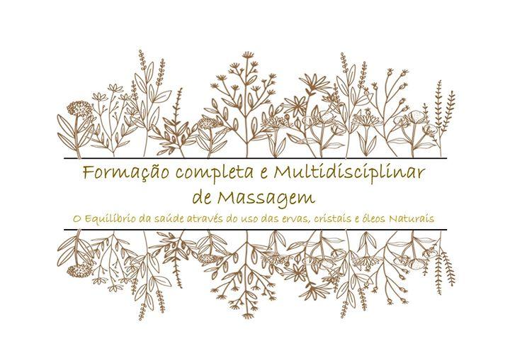 Formação completa Multid. de massagem c/ cristal, óleos ervas