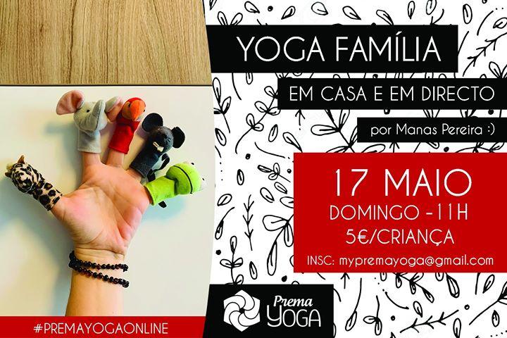 Yoga Família – Em Casa e em Directo