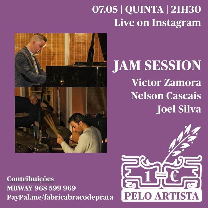 Victor Zamora em Jam Session   1€ Pelo Artista