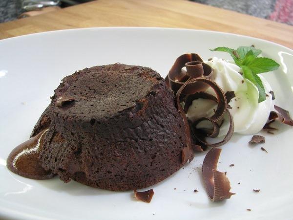 Formação OnLine-Petit Gateau de chocolate