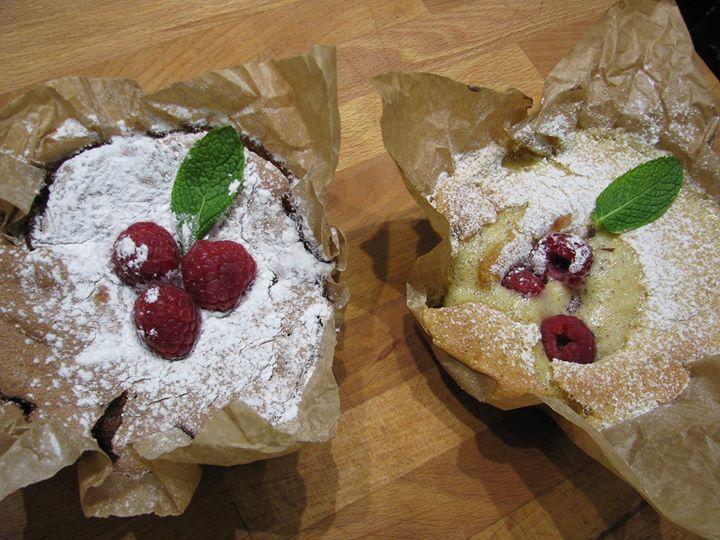 Formação OnLine-Pão de Ló Chocolate com Framboesas